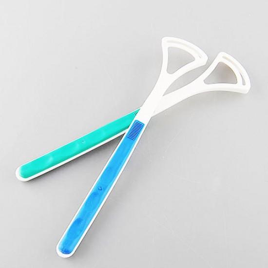 Εργαλείο καθαρισμού γλώσσας! Καθαρίστε τη γλώσσα σας και διώξτε την κακοσμία του στόματος!